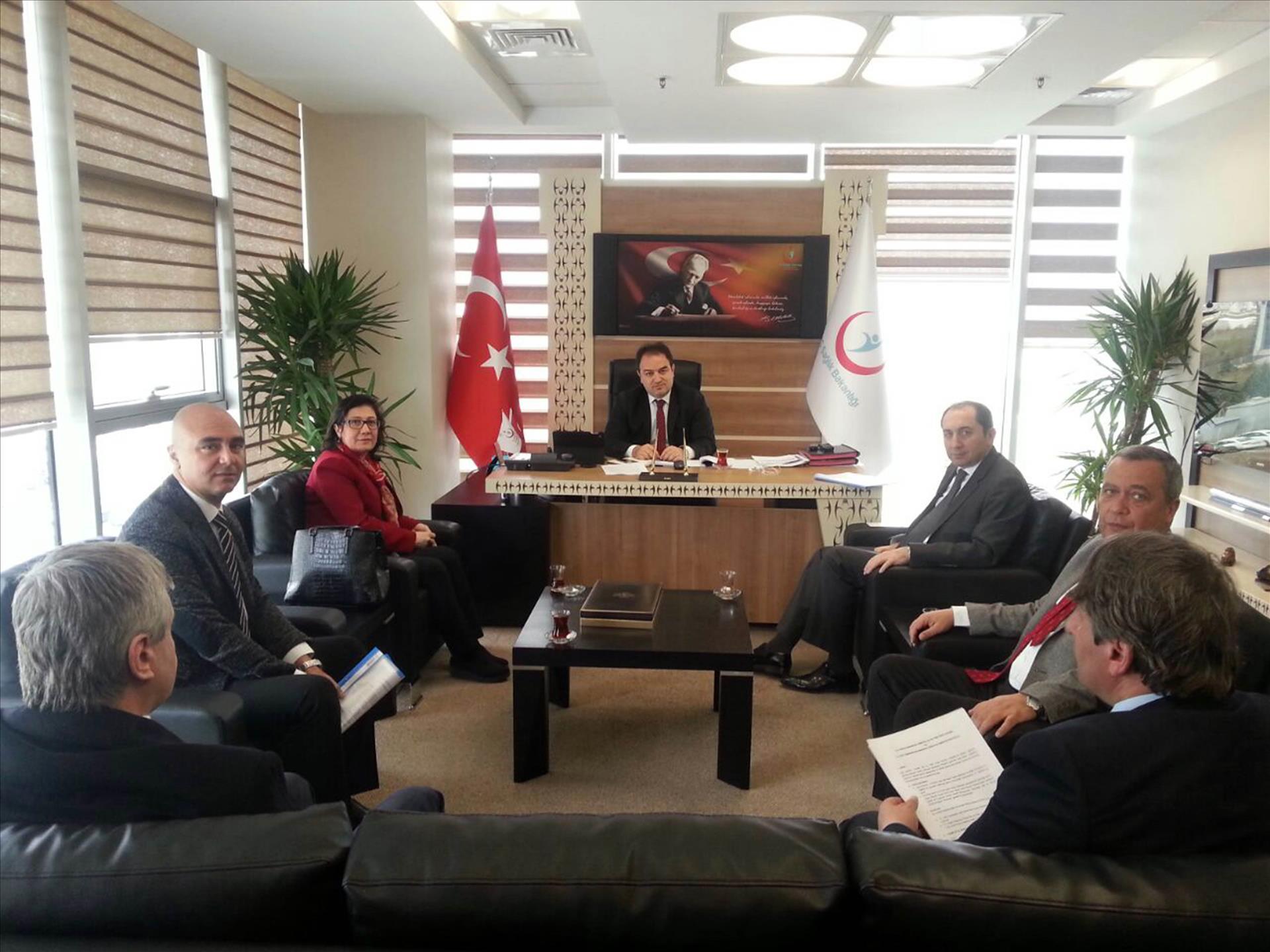 Üniversitemizden Türkiye İlaç ve Tıbbi Cihaz Kurumuna Ziyaret