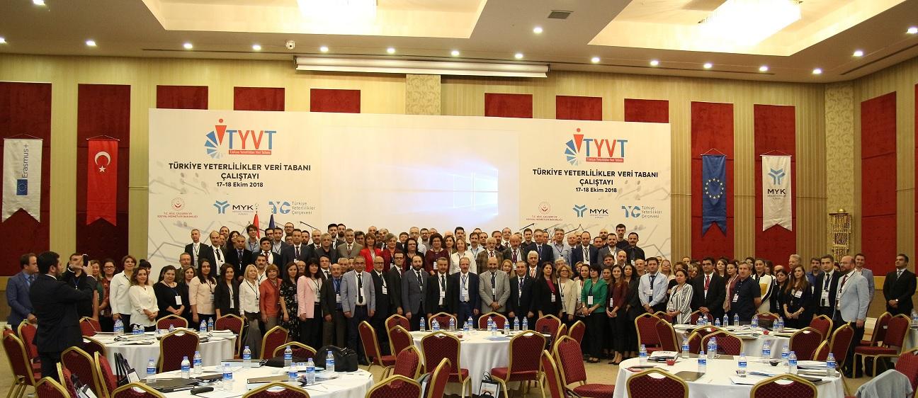 Türkiye Yeterlilikler Veri Tabanı Çalıştayı Gerçekleştirildi