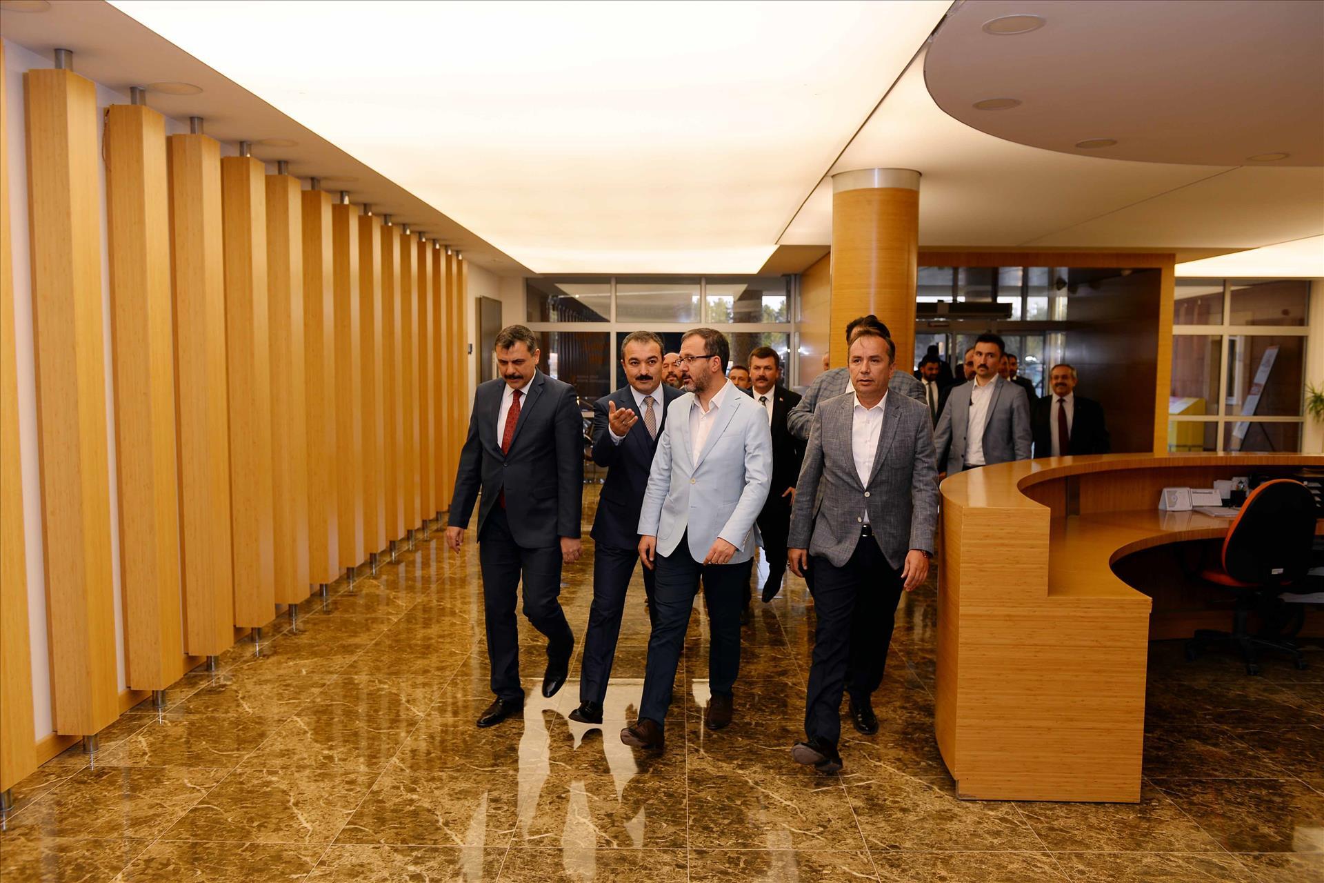 15 Temmuz Spor Kompleksimizdeki Tesislerin Açılışı Gerçekleştirildi