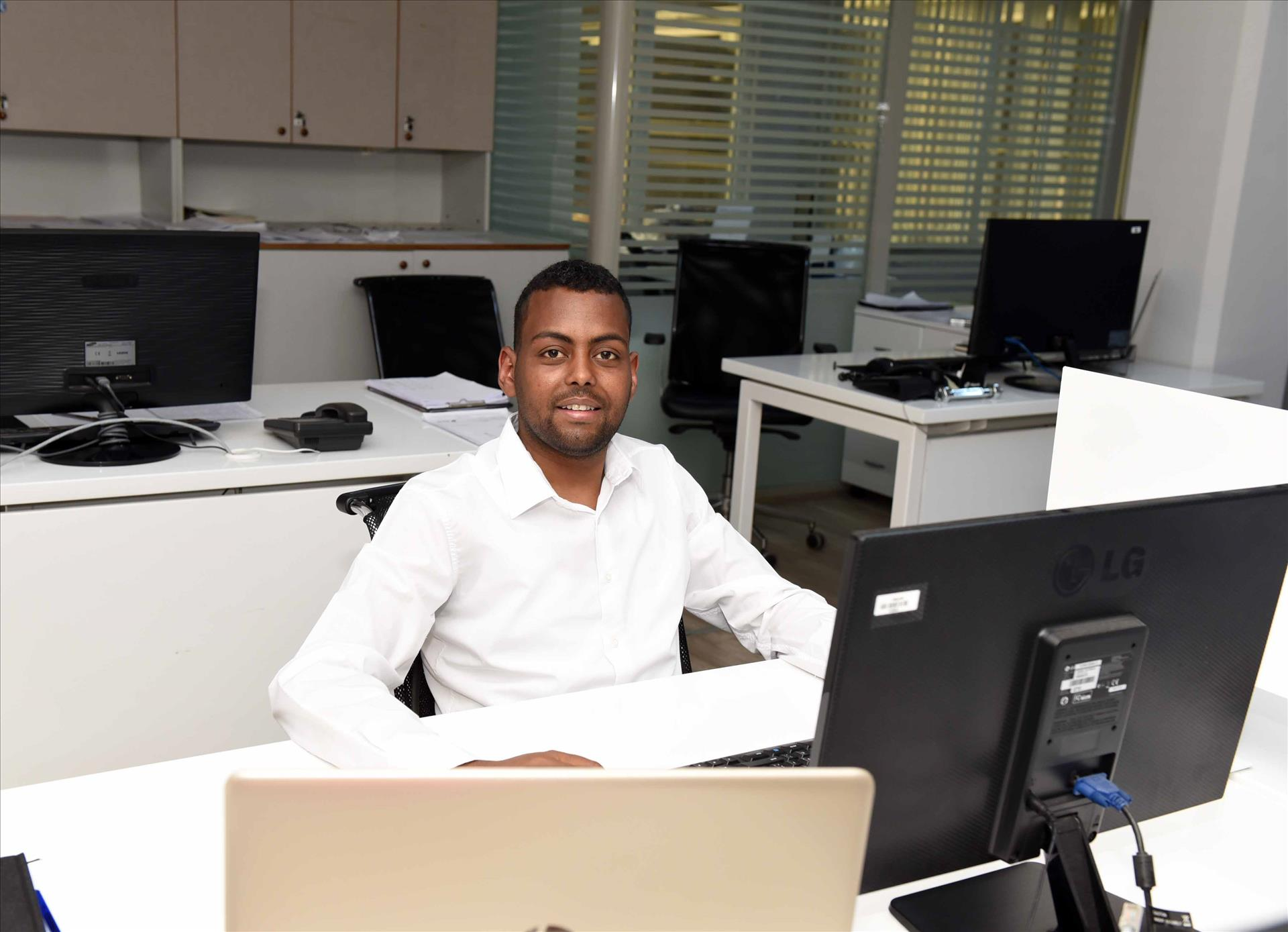 Our Kenyan graduate has become the favorite employee of the exporter company