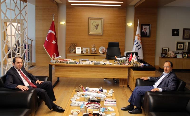 AK Parti Çorum Milletvekili Bağcı'dan Rektörümüze Hayırlı Olsun Ziyareti