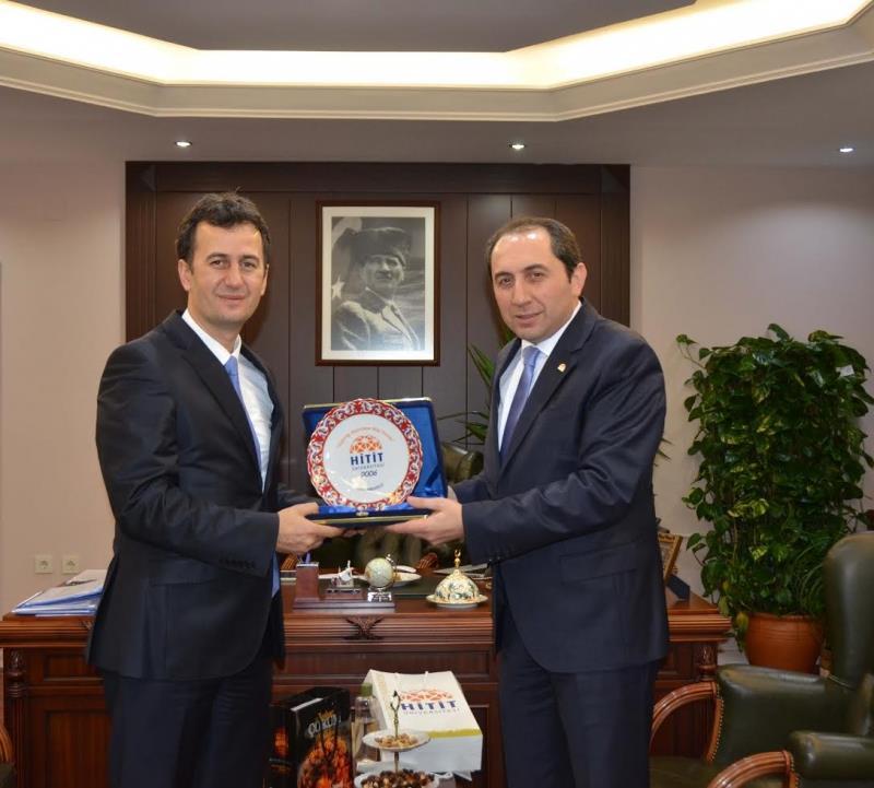 Rektörümüz Gebze Teknik Üniversitesi Rektörü Prof. Dr. Haluk Görgün'ü Ziyaret Etti
