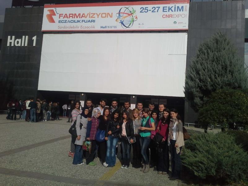 Sungurlu Meslek Yüksekokulu Öğrencileri Farmavizyon 2013 Fuarına Katıldı
