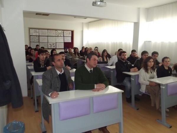 Türk Bilardo Milli Takım Antrenörü İskilip MYO'da Öğrencilerle Bir Araya Geldi