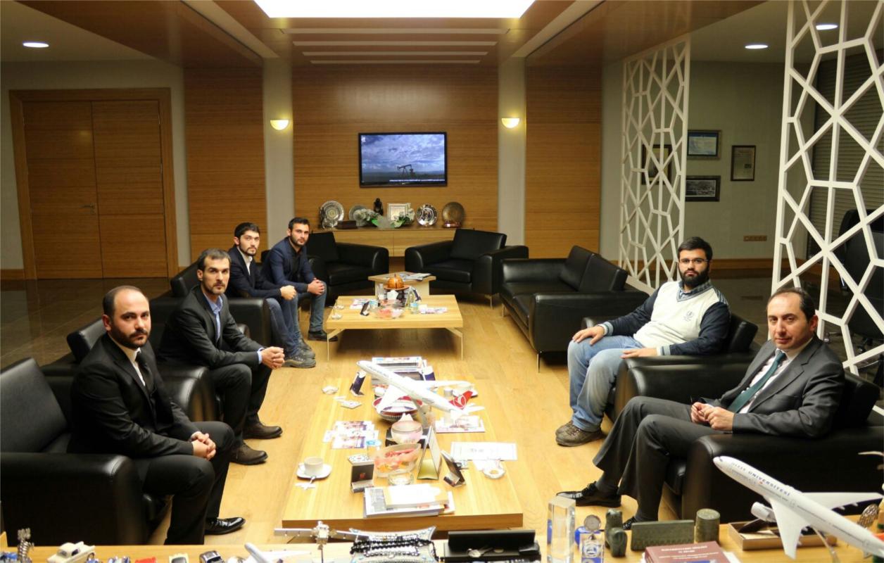 Türkiye Gençlik Vakfı (TÜGVA) Çorum İl Temsilciliği'nden Rektörümüze Ziyaret