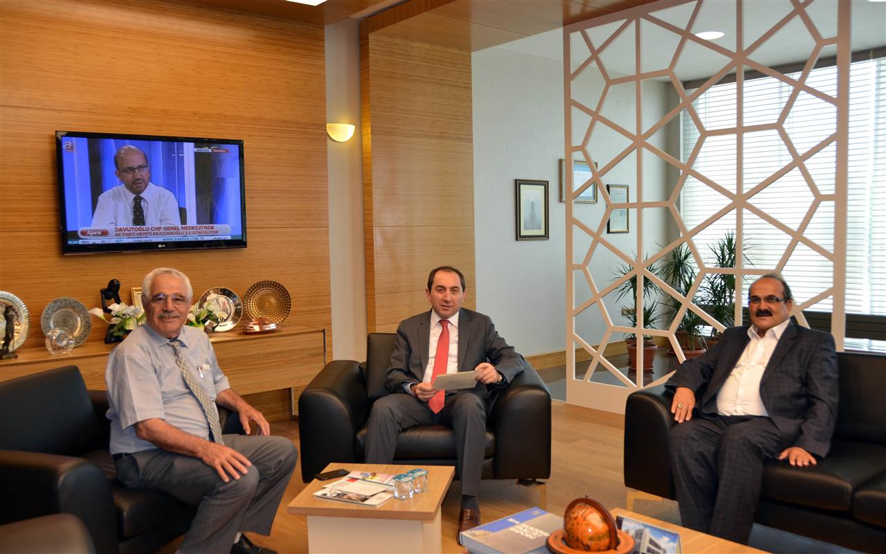 Rektörümüze Kargı Belediye Başkanı Şen'den Ziyaret