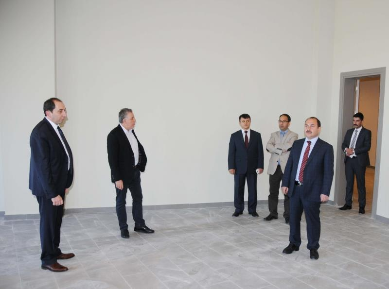 Inspection in Alaca Vocational School by Our Rector