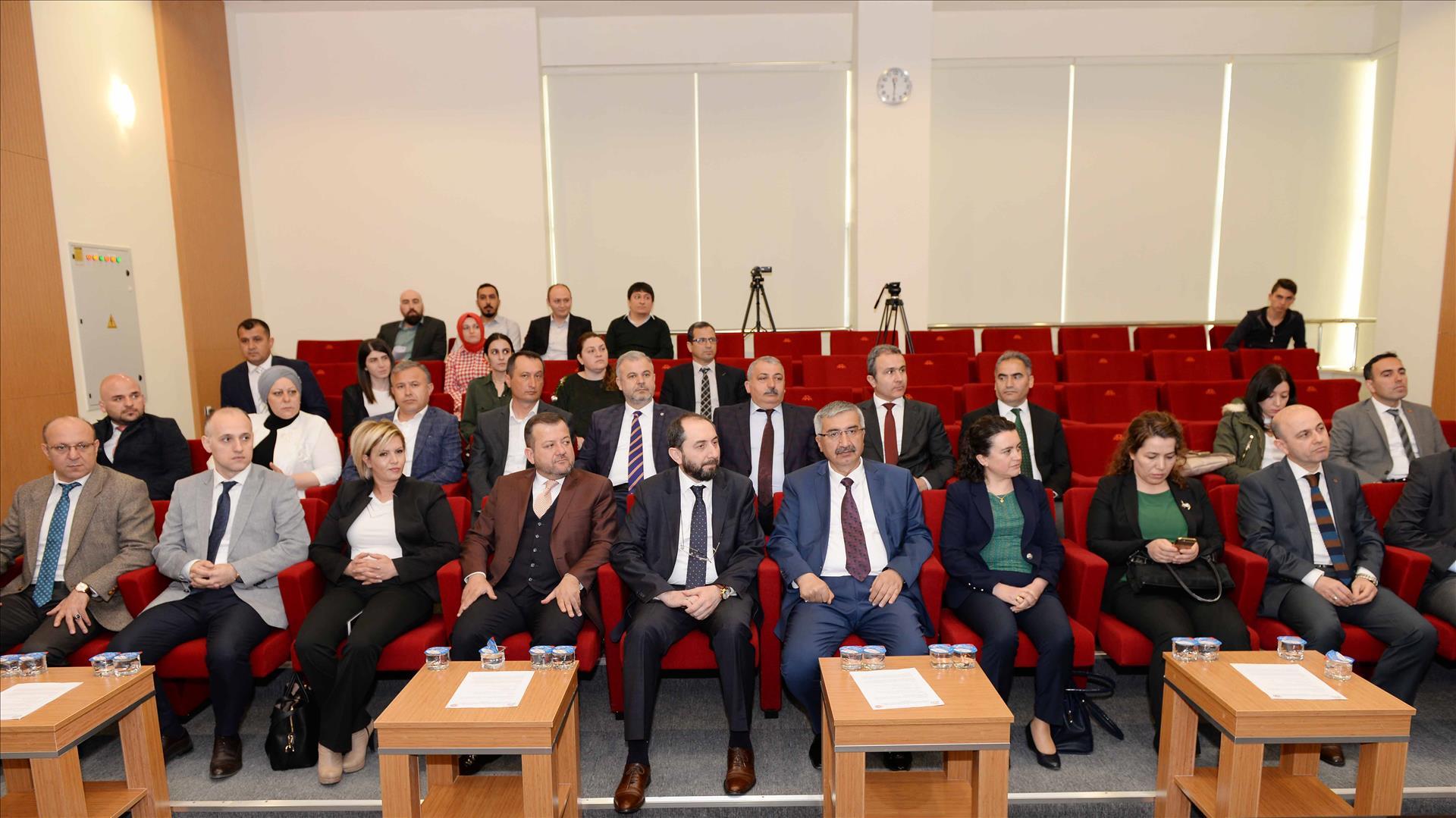 Üniversitemizde Sanayi Odaklı Lisansüstü Tez İş Birliği Protokolü İmza Töreni Gerçekleştirildi