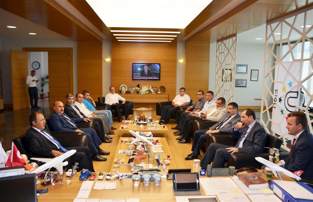 AK Parti Çorum Milletvekili Bağcı'dan Rektörümüze Ziyaret