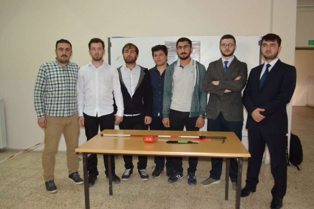 Our Students Invented Sensor Bar for Visually Impaired