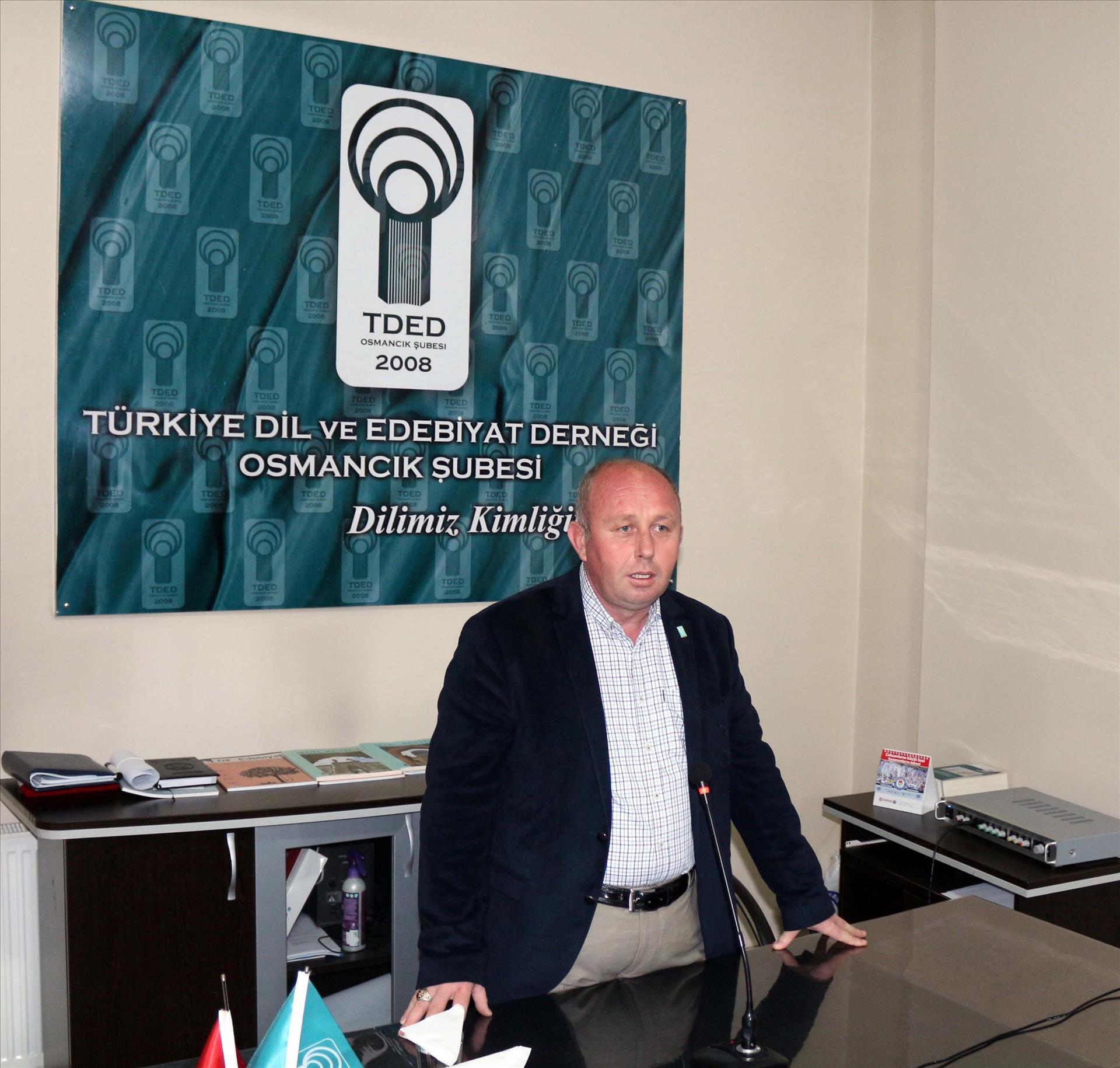 Rektörümüz Türkiye Dil ve Edebiyat Derneği Osmancık Şubesi'nde Düzenlenen Söyleşi Programına Katıldı