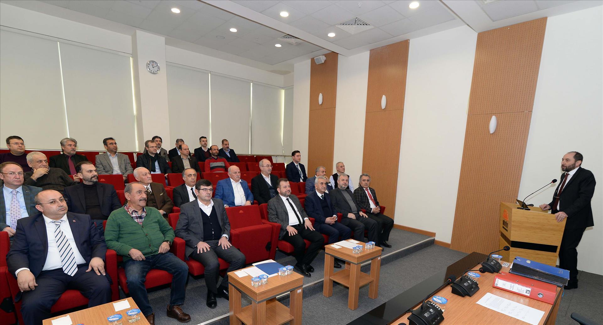 Çorum Hitit Vakfı Yönetim Kurulu Toplantısı Düzenlendi