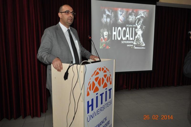 Hocalı Soykırımı Osmancık Ömer Derindere Meslek Yüksekokulu'nda Anıldı