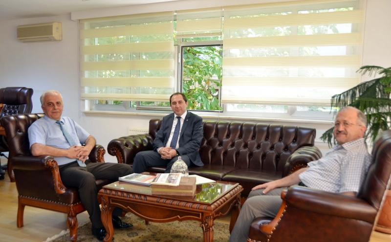 Rektörümüzden TÜBA Başkanı Prof. Dr. Ahmet Cevat Acar'a Ziyaret