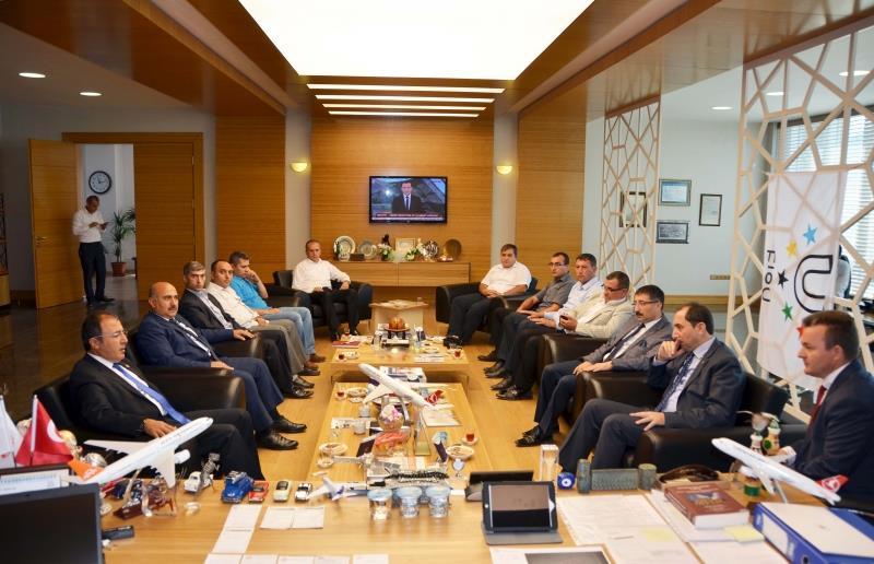 AKP Çorum Deputy Cahit Bağcı Visited Our Rector