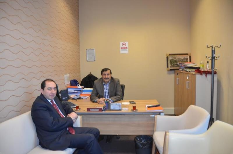 A visit to Çorum Deputy Murat Yıldırım from our Rector