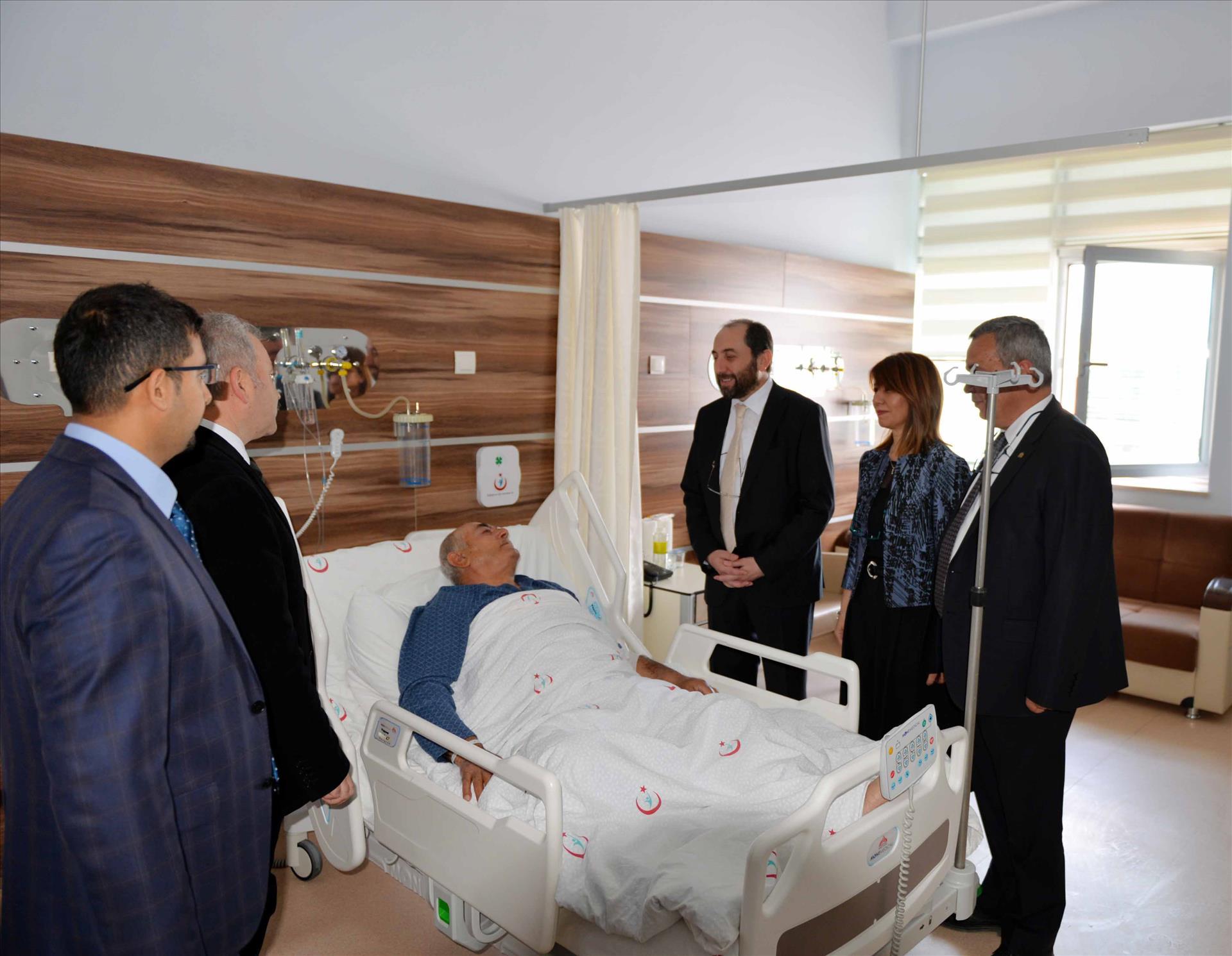 Hastanemizde İlk Kornea Nakli Yapıldı