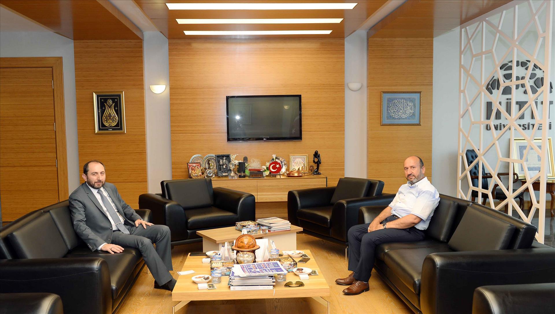 AK Parti Çorum Milletvekili Erol Kavuncu Rektörümüzü Ziyaret Etti