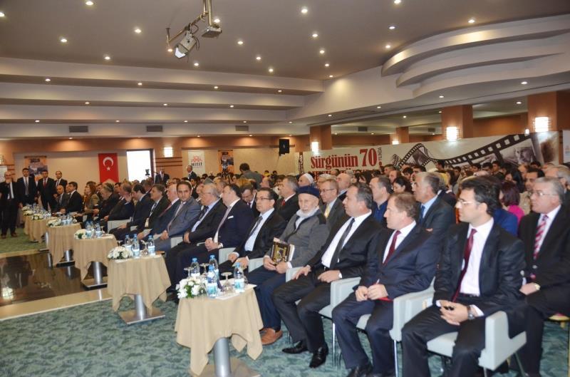 """""""Sürgünün 70. Yılında Ahıska Türkleri Uluslararası Sempozyumu"""" Başladı"""