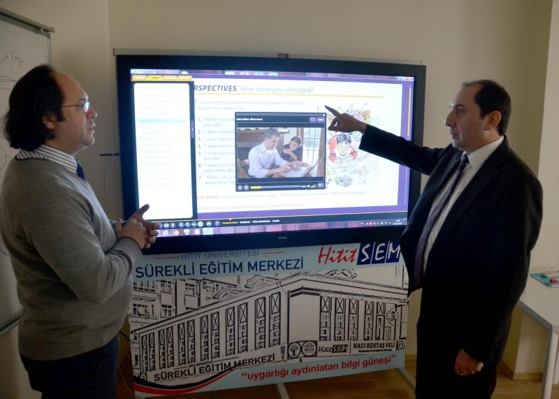 A Visit to HİTİTSEM from Our Rector