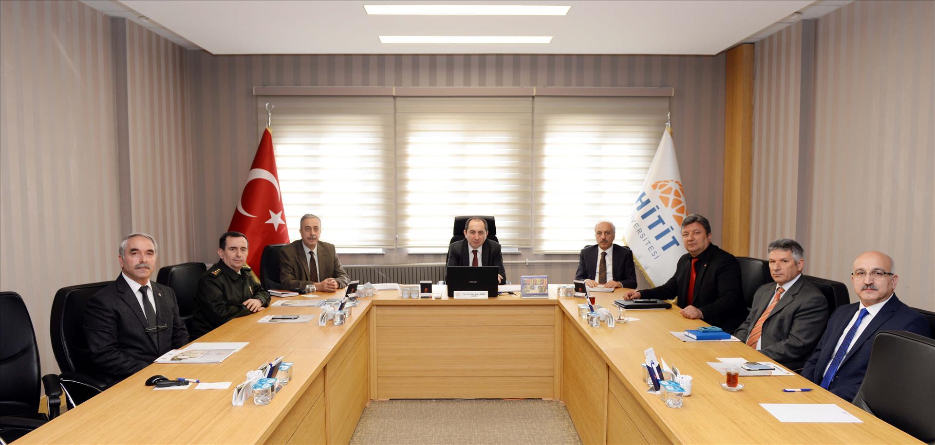 2017- YGS İl Sınav Koordinasyon Kurulu Toplantısı Yapıldı