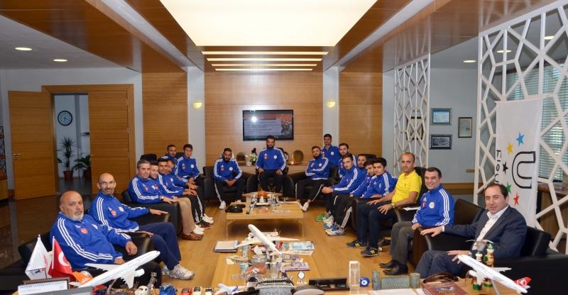 Üniversitemiz Avrupa Futsal Şampiyonası'nda Türkiye'yi Temsil Edecek