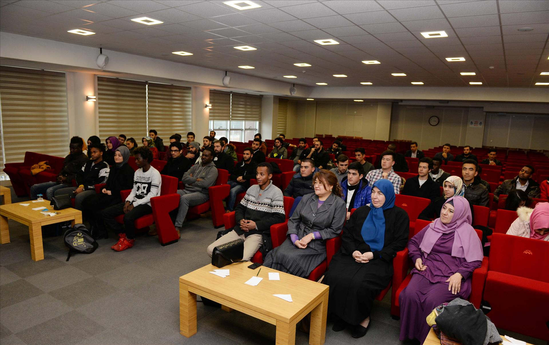Our Rector Meets with International Students