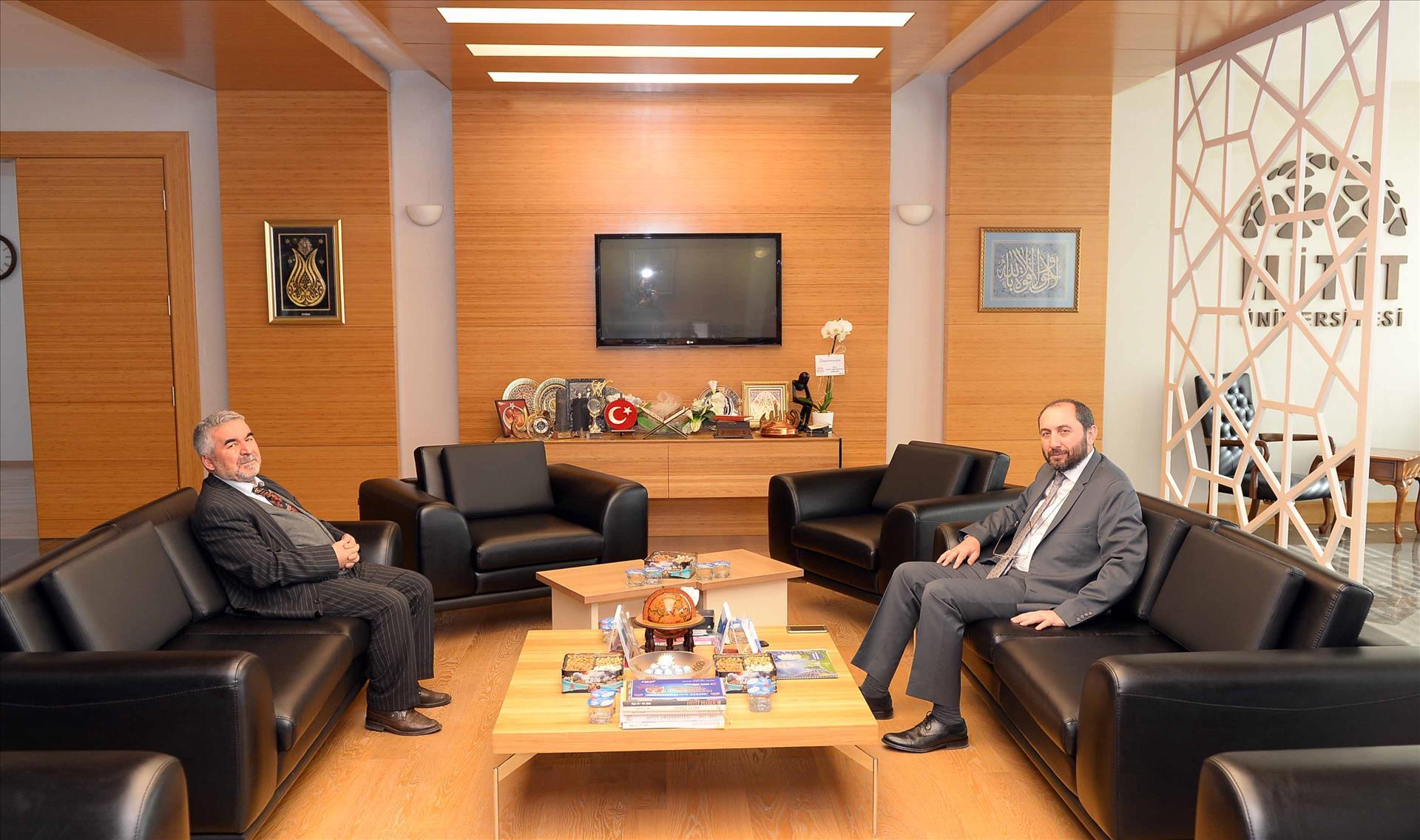 İl Müftüsü Dr. Ahmet Akın'dan Veda Ziyareti