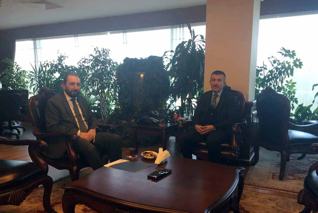 Rektörümüzden Ankara Büyükşehir Belediyesi Genel Sekreterine Ziyaret