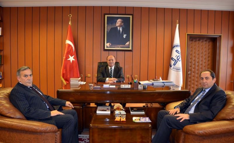 Rektörümüz İl Müftüsü Mehmet Aşık'ı Ziyaret Etti