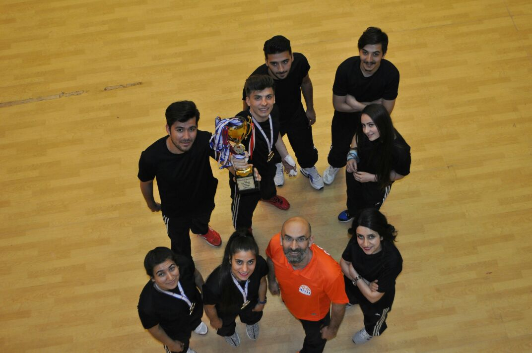 Our University Badminton Team in Big League