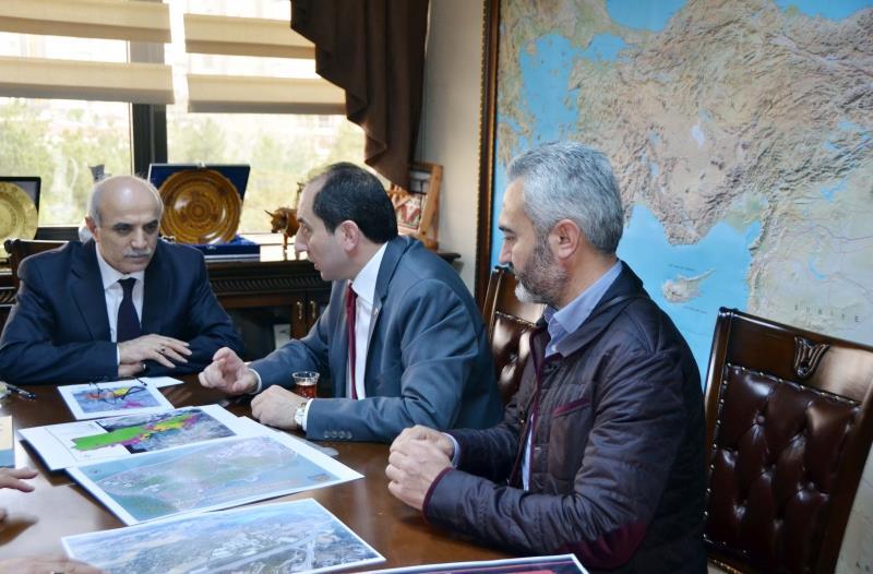 Rektörümüz Orman ve Su İşleri Bakanlığı Müsteşarı Prof. Dr. Lütfi Akça'yı Ziyaret Etti