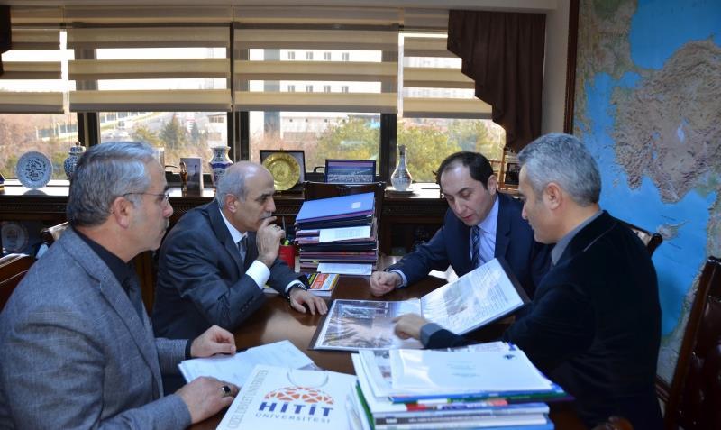 Rektörümüz Orman ve Su İşleri Bakanlığı Müsteşarı Prof.Dr. Lütfi Akça'yı Ziyaret Etti