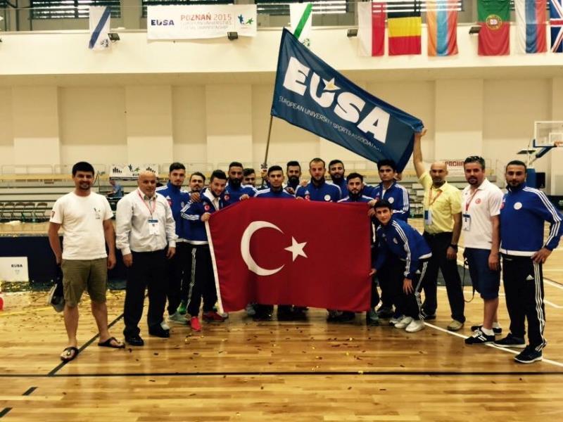 2017 European Universities Futsal Championship in Hitit University