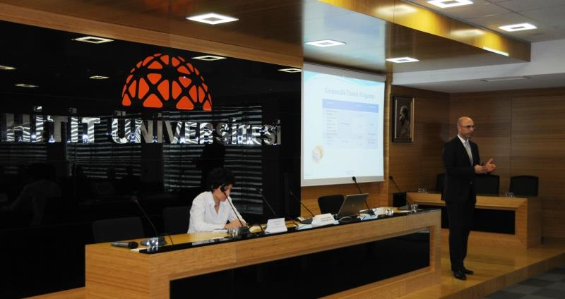 HİTİTSEM ile KOSGEB İşbirliğinde Uygulamalı Girişimcilik Eğitimi Tanıtım Toplantısı  Yapıldı