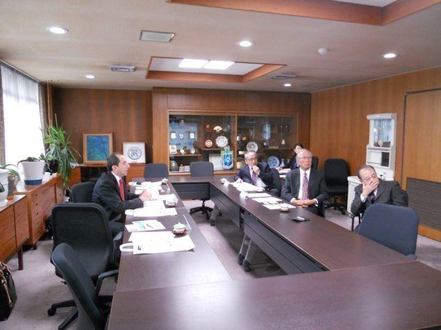 Üniversitemizden Japonya Hamamatsu Üniversitesi Tıp Fakültesine İşbirliği Ziyareti