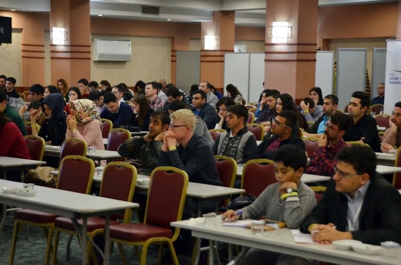 """Üniversitemiz Öğretim Elemanları Tarafından Çevre ve Şehircilik Bakanlığının """"Aday Memur Temel Eğitimi"""" Verildi"""