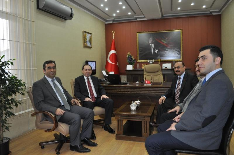 Our Rector visited Sungurlu District Director of Education