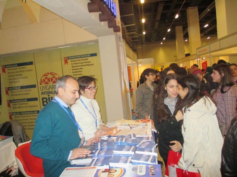 Üniversitemiz Tanıtım Etkinliklerine İstanbul İle Devam Etti