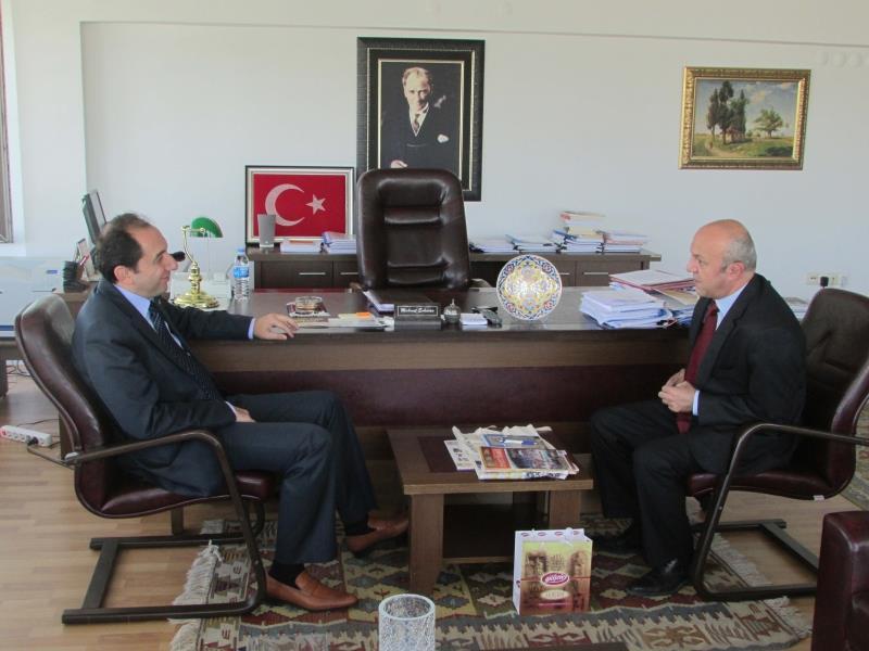 Rektörümüz Kültür ve Turizm Bakanlığı Strateji Geliştirme Başkanını Ziyaret Etti