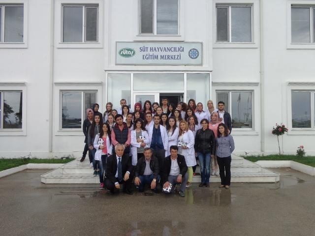 Öğrencilerimiz SÜTAŞ Tesisleri'ne Teknik Gezi Düzenledi