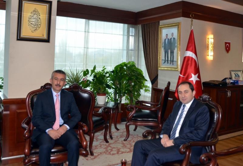 Ankara Büyükşehir Belediyesi Genel Sekreterine Rektörümüzden Ziyaret