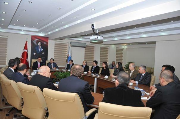 Üniversitemiz Senatosu İle Ahi Evran Üniversitesi Senatosu Ortaklaşa  Toplantı Gerçekleştirdi