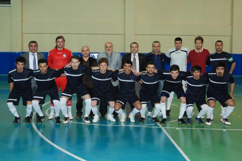 Üniversitemiz Futsal Takımı Galibiyetlerine Devam Ediyor