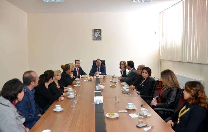 Our Rector Meets with Health School Lecturers