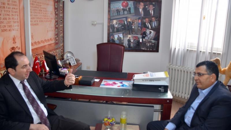 Rektörümüzden Çavuşoğlu Turizm Yönetim Kurulu Başkanı Halit İnaltekin'e Ziyaret