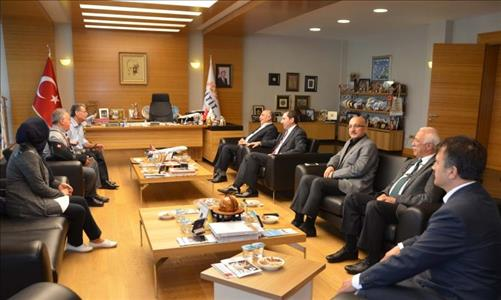 YÖK Yürütme Kurulu Üyesi Prof. Dr. Durmuş Günay Üniversitemizi Ziyaret Etti