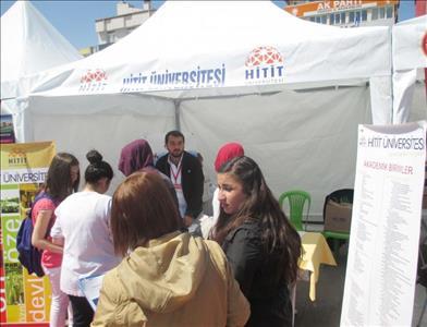Üniversitemiz Yozgat'ta Öğrencilerle Bir Araya Geldi