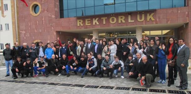 Rusya Federasyonu'ndan Üniversitemize Ziyaret