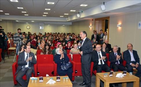 """Bartın Üniversitesi Rektörü Üniversitemizde """"Köy Gerçekliği Bağlamında Köy Romanı"""" Konulu Konferans"""